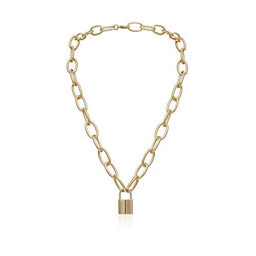 BOENTA Collares Mujer Largos Bisuteria Mujer Collares Damas Collares Creativo Collar Hermana Collares Collar de la Madre Collar para el cumpleaños Gold 8