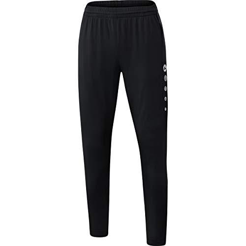 JAKO Damen Premium Trainingshose, schwarz, 40
