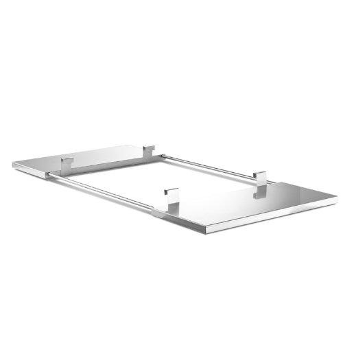 THÜROS Edelstahlablagen beidseitig für THÜROS T4 Grillfläche 40x60 cm