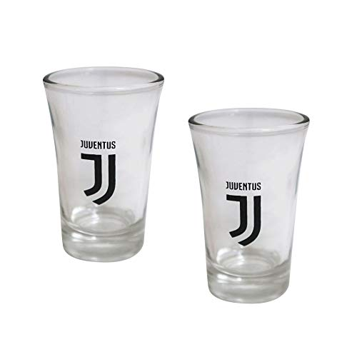 Giemme Set Juventus JU1403 2 Bicchierini Shot 45 ML