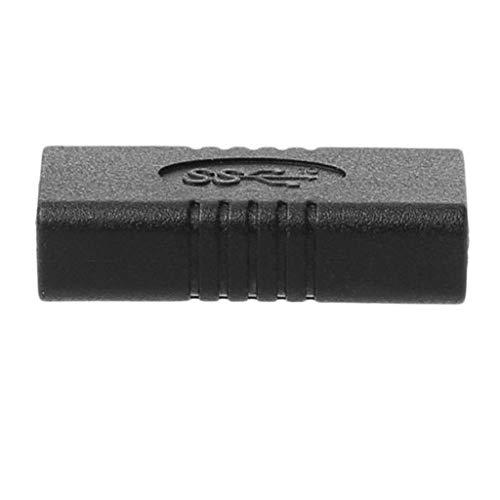 H HILABEE Micro USB Tipo C (Hembra) A USB Tipo C (Hembra) Carga Y Sincronización De Datos Convertidor De Cable Adaptador Adaptador Ajustar Teléfono Móvil