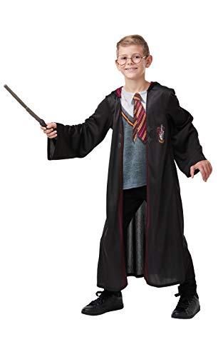 Rubie's officiële Harry Potter Gryffindor Deluxe gewaad kostuum, inclusief vleugel en bril