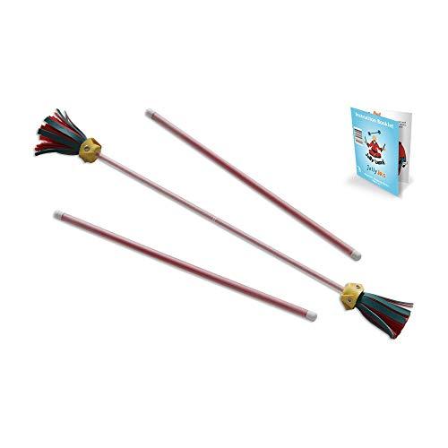 Red Jolly JRS Beginner Juggling Sticks