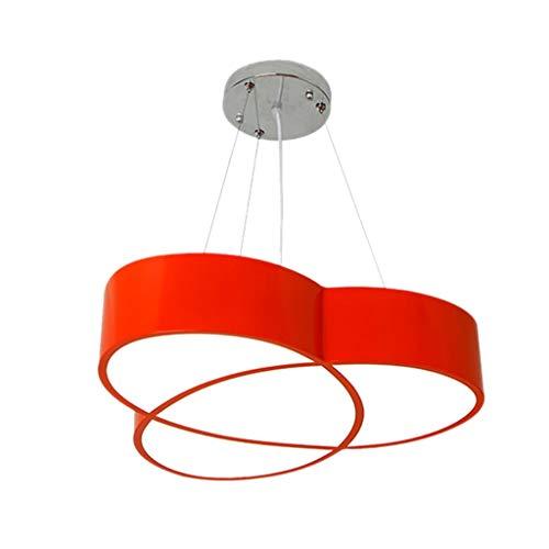 Plafonnier Lampe de Plafond Chambre plafond Lumière for les enfants Parc Jardin d'enfants LED Lampe suspension encastré Lustre suspendu Lumière acrylique Ombre (Color : Red (45×42cm))