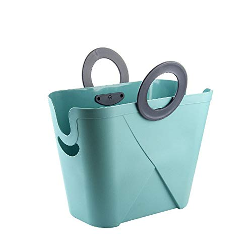 KX-YF Cesta de lavadero Cesta de lavadero Grande Baño Carrito de plástico...