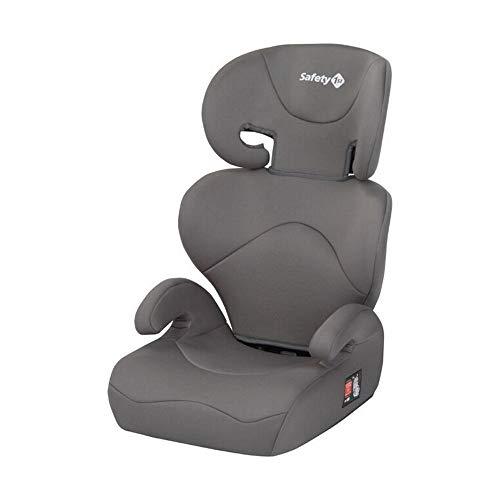 Safety 1st Road Safe Kindersitz, mit verstellbarer Kopfstütze und Rückenlehne, komfortabler Gruppe 2/3 Autositz (15-36 kg), nutzbar ab 3,5 bis 12 Jahre, Hot Grey