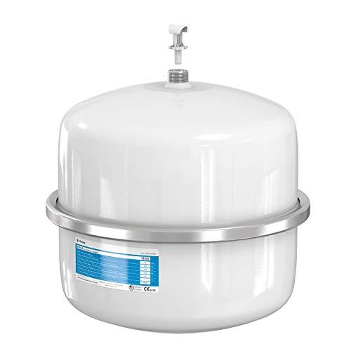Flamco 24459 Airfix A Ausdehnungsgefäß 18 L, 4 Bar für Brauchwasseranlagen, Weiß