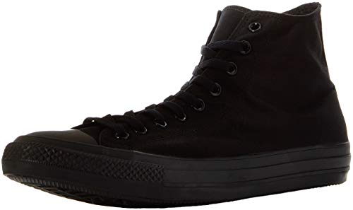 Converse Unisex M3310C C Taylor A/S Hohe Sneaker,Schwarz (Black Mono), 38