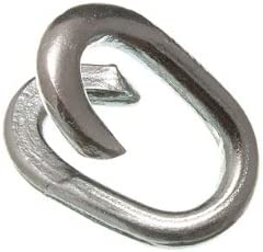3 x Chain Repair Mending Japan's largest assortment Lap Joining BZP inch Links Ranking TOP3 9 Stee 32 M7