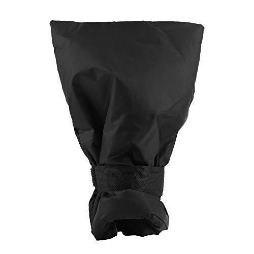 Tap Frost Cover - anti-vorst beschermhoes, waterkraan handschoen, winterwaterbeschermhoes zwart