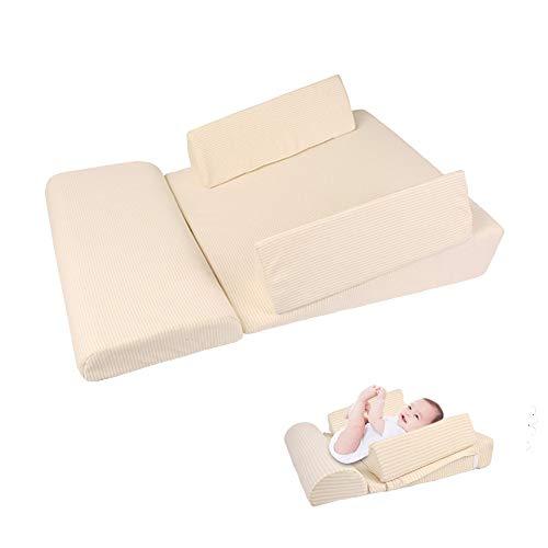 Verstelbare Baby Multi-Functionele Kussen, Prevent Reflux En Anti-Rollover Sleeping Positioning Kussen