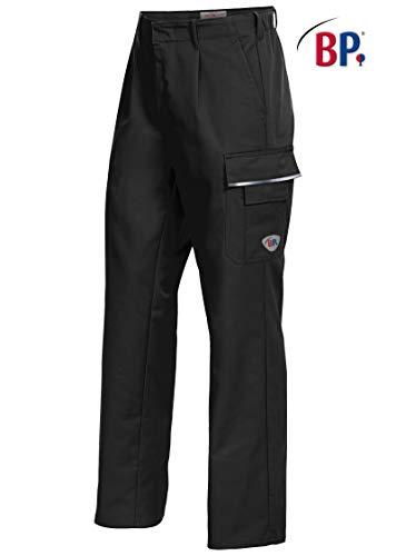 BP 1605-559-32 Workwear Unisex werkbroek, polyester en katoen, zwart, maat 50l