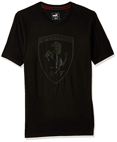 PUMA Ferrari Big Shield Herren T-Shirt Puma Black L