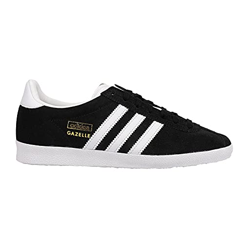 adidas Womens Gazelle Og Lace Up Sneakers Shoes Casual - Black - Size 6.5 B
