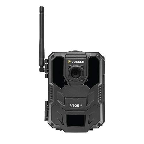 VOSKER V100 4G, cámara de Seguridad Exterior, cámara de Seguridad inalámbrica, vigilancia de Edificios, cámara de Seguridad móvil