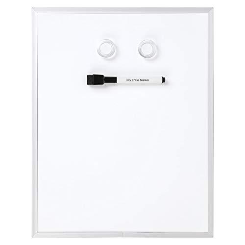 """Amazon Basics Magnetic Dry Erase Board, aluminum frame, 11"""" x 14"""""""