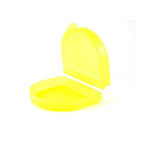 Dr. Bauer´s Zahnspangenbox - KFO-Dose klein 2,7cm (gelb)