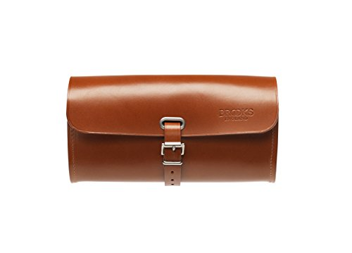 Brooks England Ltd. Unisex Adult Saddle Bag Satteltaschen, Honey, 7 x 21 x 11 cm