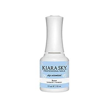 Kiara Sky Dip Essential Base Base Layer Polish for Powder Manicure 0.5 Ounces