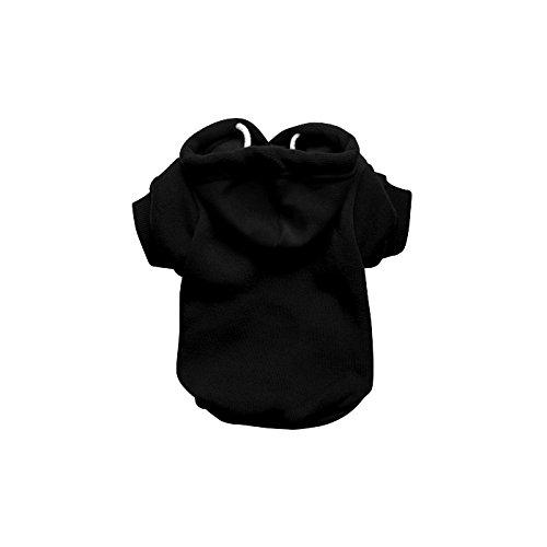 Hoodie, Hoody, Pullover, Sweatshirt für Hunde, schwarz