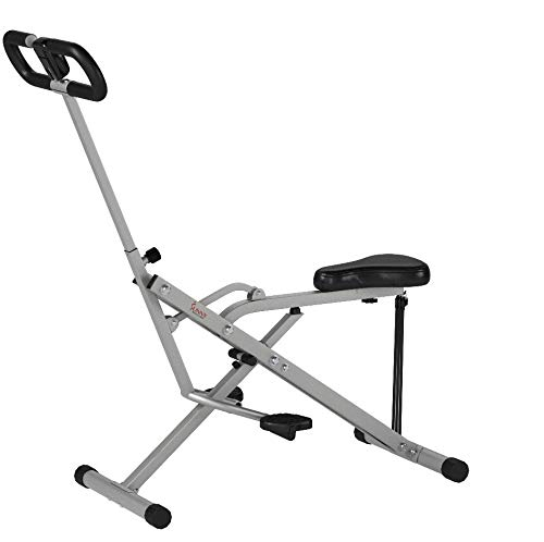Product Image 15: Sunny Health & Fitness Squat Assist Row-N-Ride Trainer for Glutes Workout with Training Video