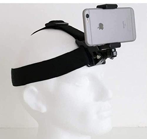 Designo Head Helmet Strap Band Mount Holder for Mobile Phone to use as...