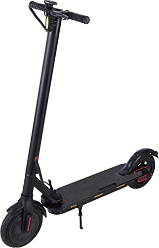 Electric Scooter for Adults Commuting,250W Motor,7.8Ah Battery,8.5' Pneumatic Tire,15.5 Mph & 12-18 Mile Range,265lbs Max.Load,Portable Foldable Aluminum E-Scooters,with Headlight and Handbrake