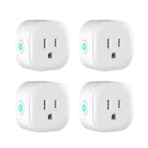 Visit the Smart Plugs - 4 Pack, Works With Google and Alexa on Amazon.