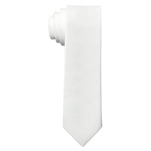 MASADA Herren-Krawatte von Hand gefertigt & sorgfältig verarbeitet 6 cm breit Creme