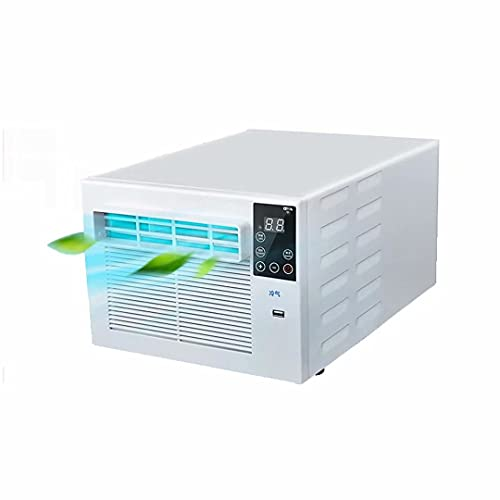 Air Conditioner 3000 BTU Window Conditioner with Cooling Dehumidifier Fan Heating and LED Display Suitable for Silent Window Air Conditioner in Rooms Below 8 Cubic Meters