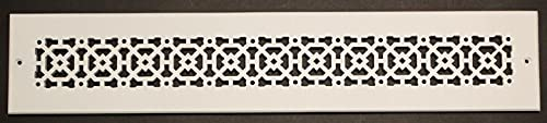 """Achteck 8""""x 26"""" Duct opening Solid Cast Aluminum Air Return Grill Vent Cover 