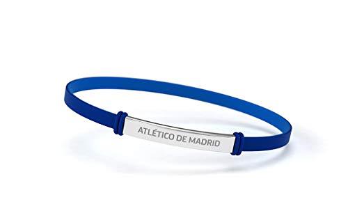 Atlético de Madrid Pulsera Fashion Azul Junior para Mujer y Niño | Pulsera de...