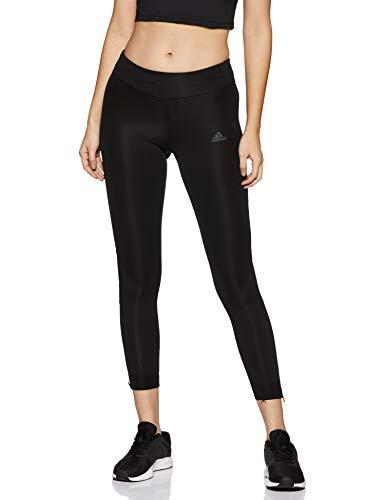 adidas Own The Run Tgt Mallas de Running, Mujer, Negro (Black/Black), M
