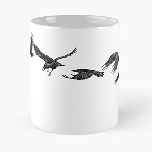 Raven Folklore Legend Myth - Funny Mug Coffee Gift For Christmas Father's Day