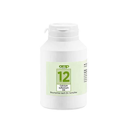 Schüssler Salz Nr. 12 Calcium sulfuricum D6 | 1000 Tabletten | Das Salz der Gelenke | glutenfrei
