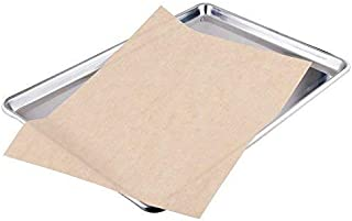2dayShip Quilon Parchment Paper Baking Liner Sheets, Unbleached Brown, 12 X 16 Inches, 200 Count