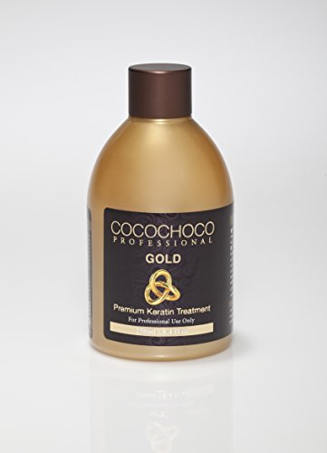 Cocochoco Professional - 8.4oz keratin treatment - choose your hair type (Gold - For extra Shine)