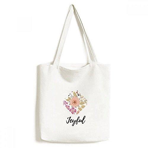DIYthinker Dahlia Blume Pflanze Farbe Environmentally-Tasche Einkaufstasche Kunst Waschbar 33cm x 40 cm (13 Zoll x 16 Zoll) Mehrfarbig