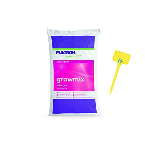 Plagron Growmix 50 litri con Perlite - Terriccio Crescere in vaso Piante da balcone Piante da balcone che piantano terra terra da giardino terra da giardino terra da pomodoro