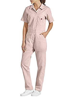 Dickies Women's Short Sleeve Flex Coverall, Lotus, Small