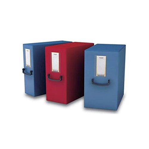 Fellowes 40275 Raccoglitore Pick Up Box, Dorso 20 cm, Rosso