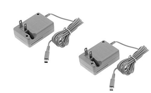 Video Game Accessories Nintendo 3DS CTR-001 Compatible WAP-002 Battery Charger AC Adapter Cord LOT of 2