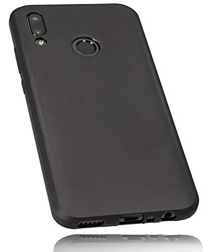 mumbi Hülle kompatibel mit Honor 10 Lite / Huawei P Smart 2019 Handy Case Handyhülle, schwarz