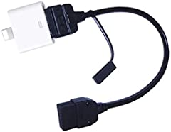 Replacement Nissan Infinity i-Pod i-Phone i- Pad Interface Cable (2009-2013) ref Part number: 284H2-ZT50A. Genuine Original Intergation. Control your i-pod/i-phone directly from your steering wheel. Connect i-pod, i-phone, i-pad and play music direct...