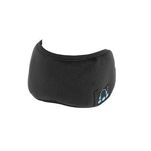 31X+1jaGTML - Sleep Headphones, Bluetooth 5.0 Wireless 3D Eye Mask 2019 Updated, WATOTGAFER Sleeping Headphones for Side Sleepers, Washable Travel Music Play Adjustable Speakers Microphone Handsfree Long Play Time