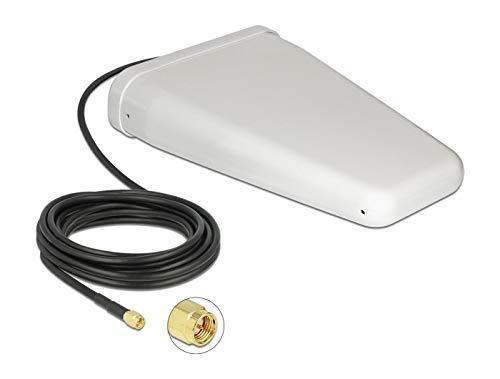 Delock LTE Antenne SMA Stecker 7-9 dBi direktional mit Anschlusskabel