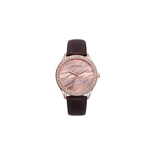 Mark Maddox MC6004-90 - Reloj, impermeable, 30m, color rosa/negro