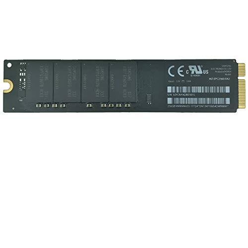 Timetec OEM MZ-EPC2560/0A2 256GB Compatible for Apple Mini SATA mSATA III 6 Gb/s SSD Flash for Mac Book Air Mid 2012 11'' A1465 EMC 2558, 13' A1466 EMC 2559 (SSD 256GB)