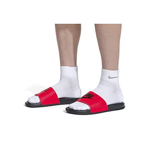 Nike Nike Benassi Jdi, Herren Flip Flop, Weiß (Weiß/Schwarz), 40 EU (7 US)
