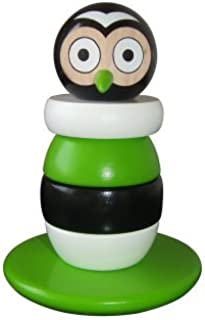 Discoveroo Magnetic Wooden Stacking Owl Playset by Discoveroo